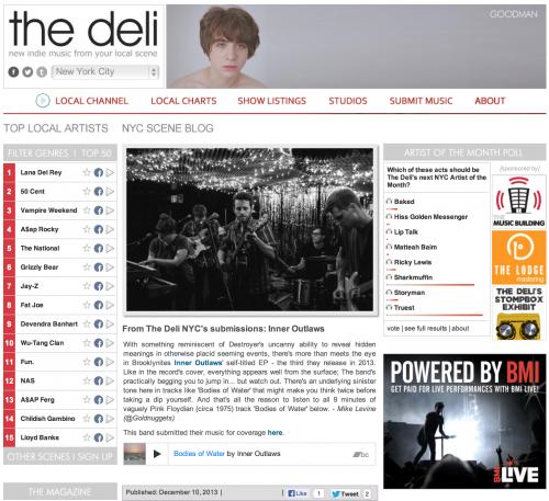 Deli Magazine: Inner Outlaws